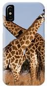 Twin Giraffes IPhone Case