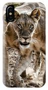 Twin Lions IPhone Case