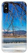 Twin Peaks Blue IPhone Case