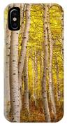 Twisted In Yellow IPhone Case