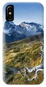 Twisted Tree And Trail IPhone Case
