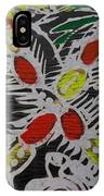 Two Beautiful Painted Palm Tree With Keg. IPhone Case