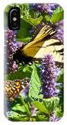 Two Butterflies In The Afternoon Sun IPhone Case