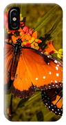 Two Butterflies IPhone Case