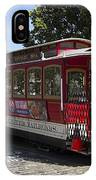 Two Cable Cars San Francisco IPhone Case