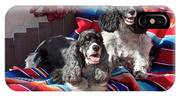 Two Cocker Spaniels Together IPhone X Case