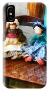 Two Colonial Rag Dolls IPhone Case