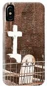 Two Crosses In Saint Lukes  IPhone Case