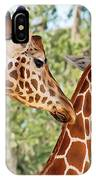 Two Giraffes IPhone Case