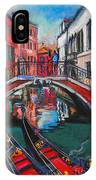 Two Gondolas In Venice IPhone Case