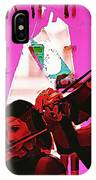 Two Musicians IPhone Case