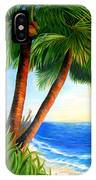 Two Palms IPhone Case