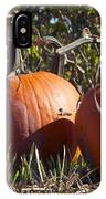 Two Pumpkins IPhone Case