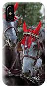 Two Red Devils IPhone Case