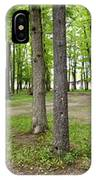Two Roads Diverged Letchworth State Park Panorama IPhone Case