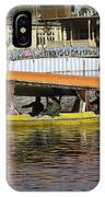 Two Shikaras Next To Each Other In The Dal Lake IPhone Case