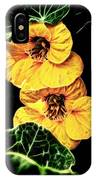 Two Shy Sisters Fractal IPhone Case