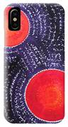 Two Suns Original Painting IPhone Case