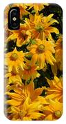 Two Toned Yellow Blooms IPhone Case