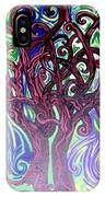 Two Trees Twining IPhone Case
