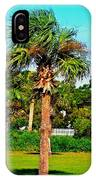 Tybee Palm IPhone Case