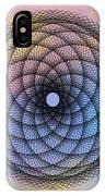 Tye Dye Spirograph IPhone Case