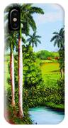 Typical Country Cuban Landscape IPhone Case