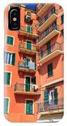 Typical Ligurian Homes IPhone Case