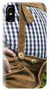Tyrolean Man IPhone Case