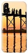 U Bein Bridge - Myanmar IPhone Case