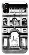 Uffizi Gallery In Florence IPhone Case