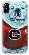 Uga Bulldog II IPhone Case