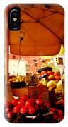 Umbrella Fruitstand - Autumn Bounty IPhone Case