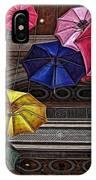 Umbrella Fun IPhone Case