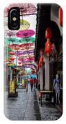Umbrella Street IPhone Case