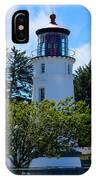 Umpqua River Lighthouse IPhone Case