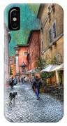 Una Notta A Roma IPhone Case