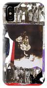 Uncle Sam Richard Nixon Mask Nuns Sitting Child Collage 2013 IPhone Case