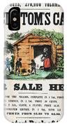 Uncle Tom's Cabin, C1860 IPhone Case