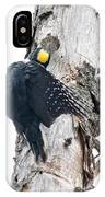 Under Cover Black-backed IPhone Case