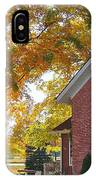 Under Sheltering Leaves IPhone Case