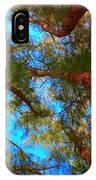 Under The Australian Pines IPhone Case