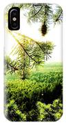 Under The Evergreen IPhone X Case