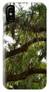 Under The Live Oak Tree IPhone Case