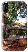 Under The Shadow Of The Tree. Eureka. Mauritius IPhone Case