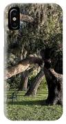 Under The Spreading Oak Tree IPhone Case