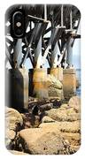 Under The Steinbeck Plaza Overlooking Monterey Bay On Monterey Cannery Row California 5d25050 IPhone Case
