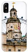 Under The Watchful Eye At Horse Guards IPhone Case