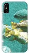 Underwater Fish Swimming By IPhone Case