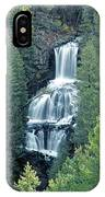109008-undine Falls In Yellowstone IPhone Case